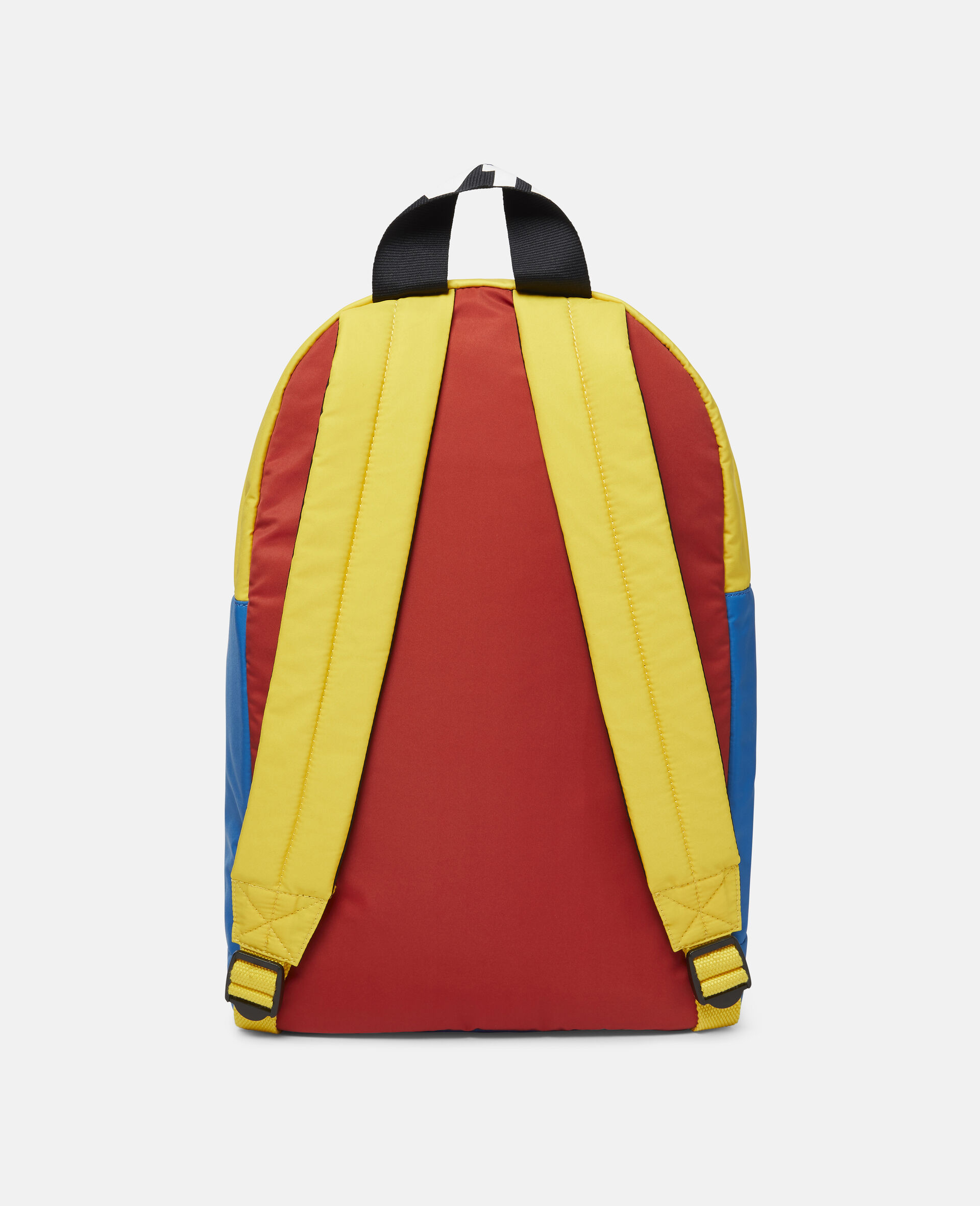 Colorblock Logo Backpack-Multicolour-large image number 3