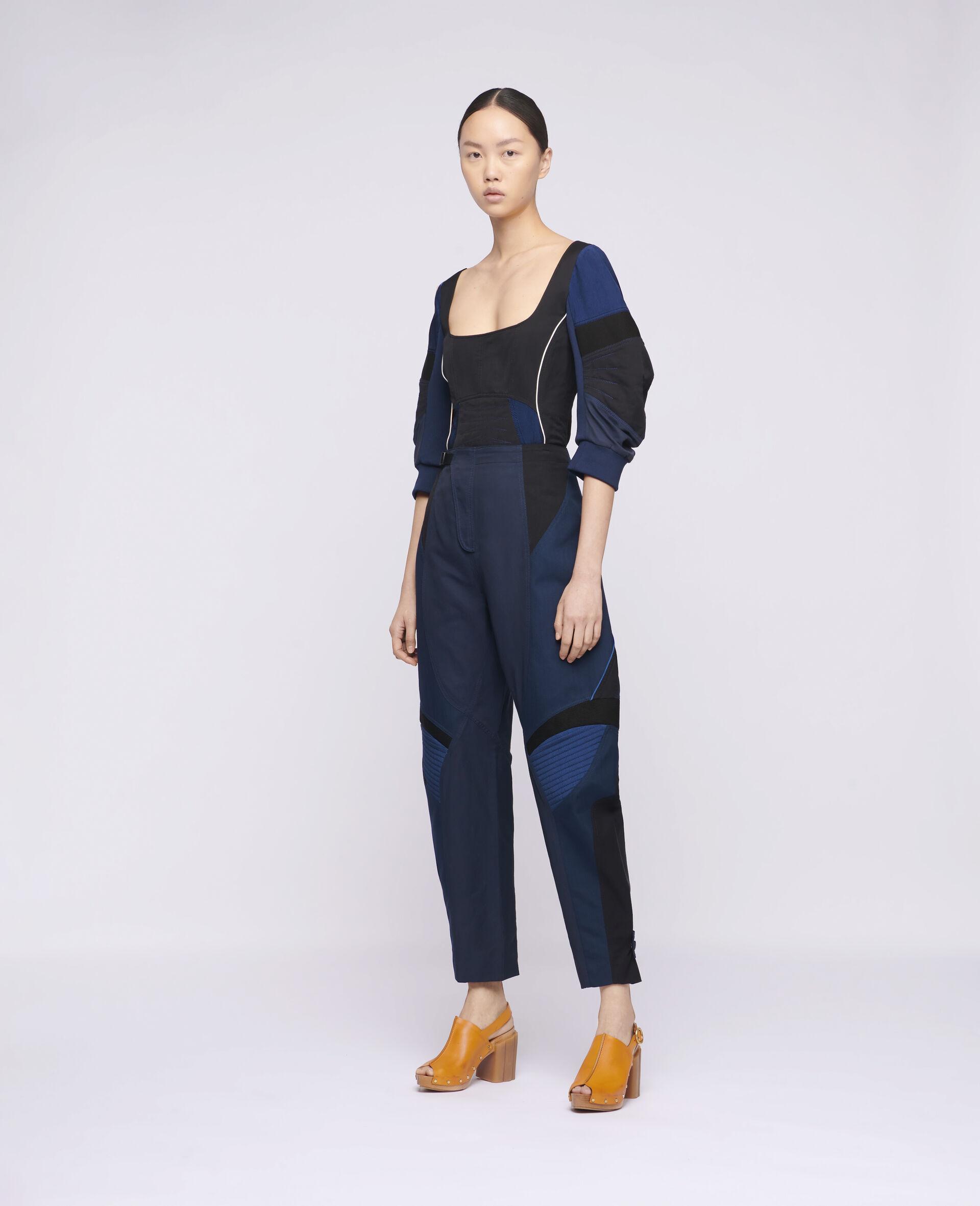 Brooke 裤装-蓝色-large image number 1