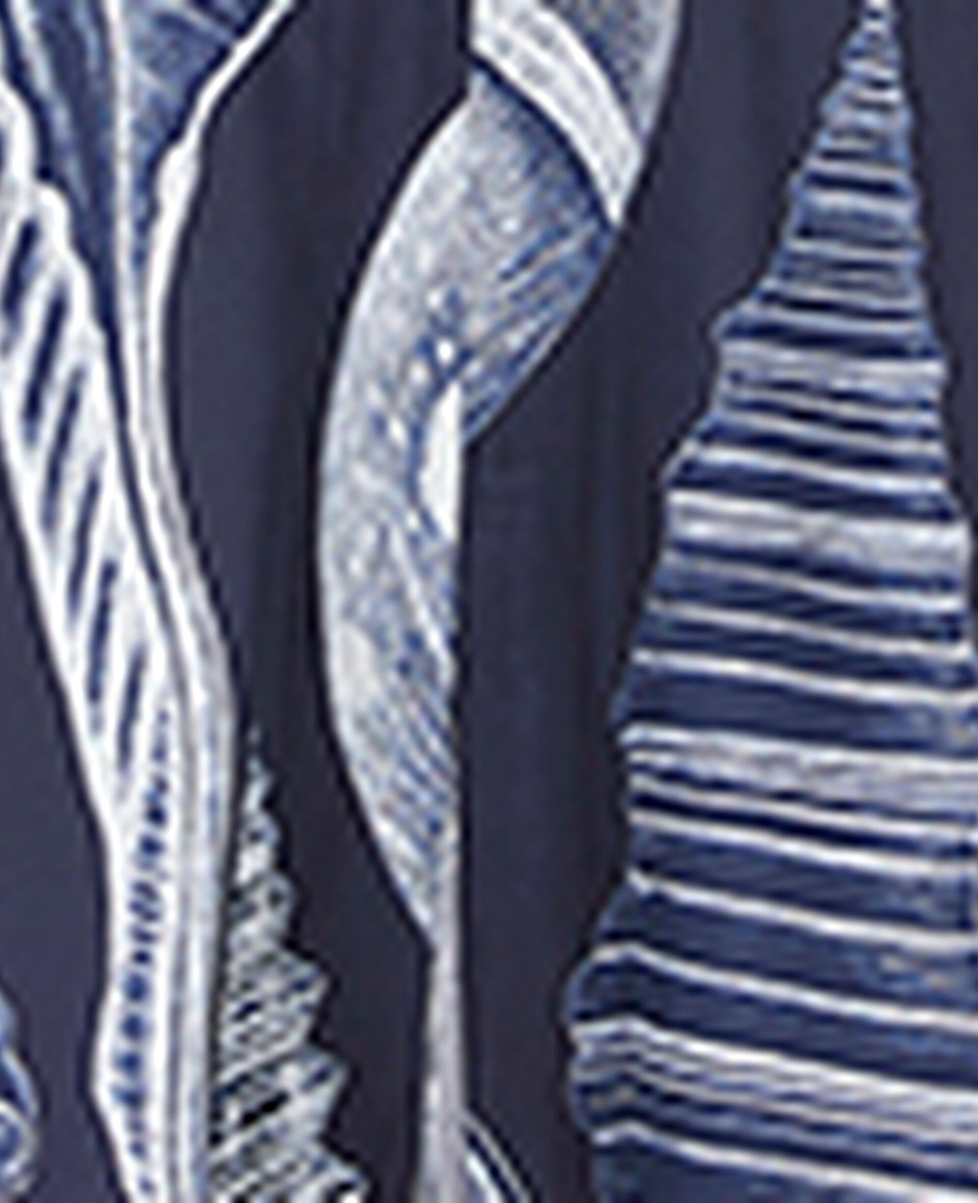 Anabelle Silk Dress-Blue-large image number 4