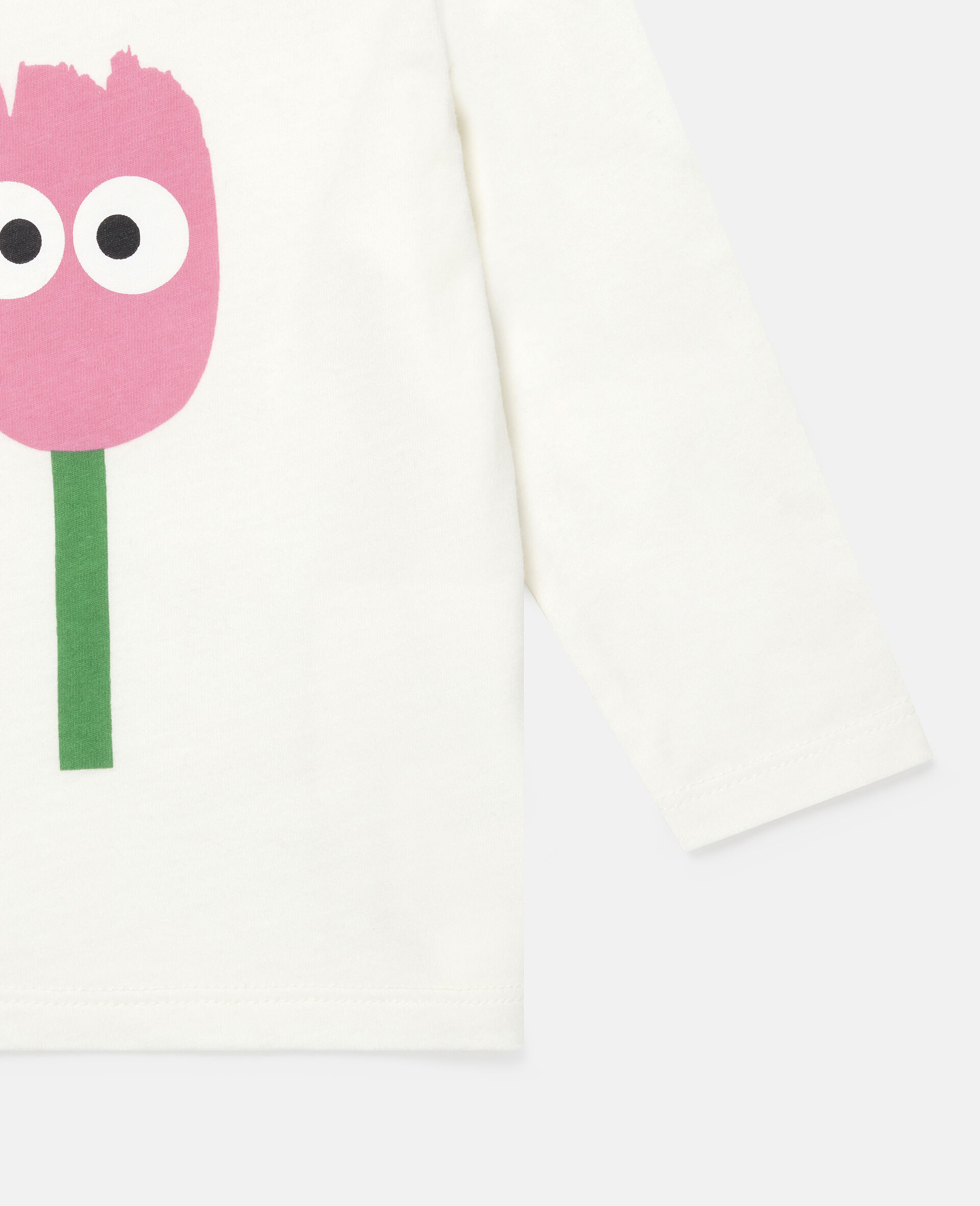 Tulip Cotton Top-White-large image number 2